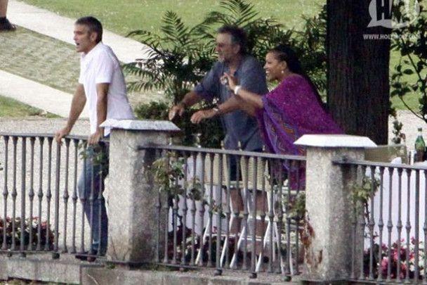 Робет де Ніро приїхав в гості до Клуні
