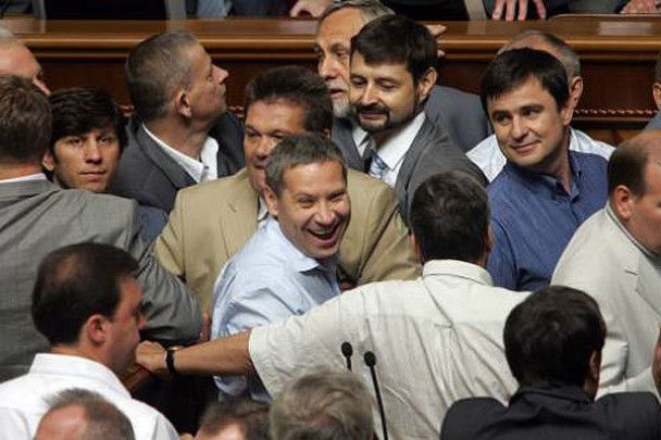 Депутати побилися і пішли на канікули