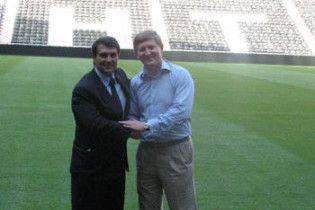 """Президент """"Барселони"""" побував на новому стадіоні Ахметова"""