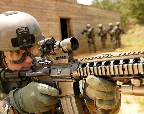 Солдати США