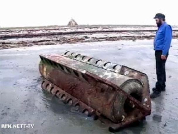 До берегів Норвегії прибило російський буй-шпигун