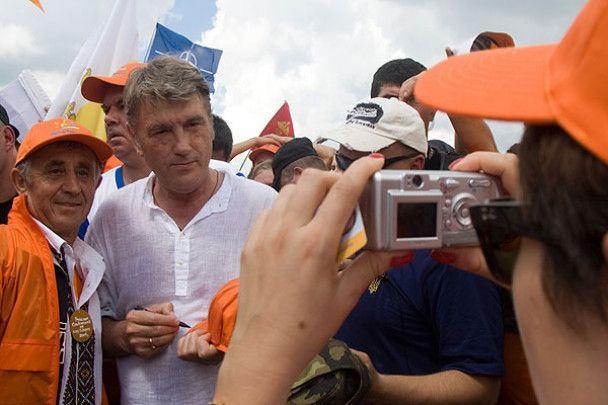 Ющенко підкорив Говерлу 35-ий раз