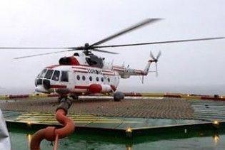 """В Росії впав вертоліт МІ-8 з представниками """"ЛУКОЙЛУ"""" на борту"""