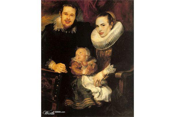 Том Круз став Наполеоном, а Анджеліна Джолі - Мона Лізою
