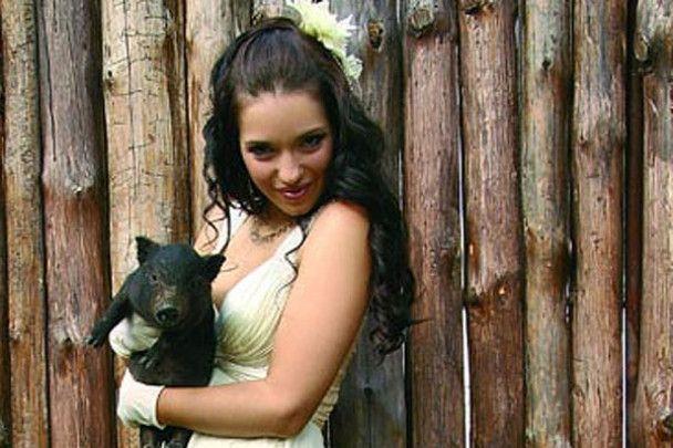 Женя Тимошенко знову стала нареченою
