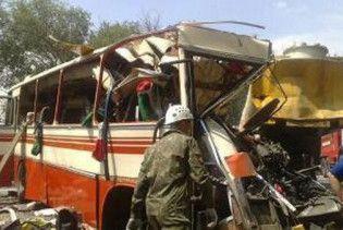 В аварії автобуса під Ростовом постраждали українці