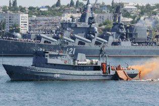 Порошенко вимагає припинити спекуляції на темі Чорноморського флоту РФ