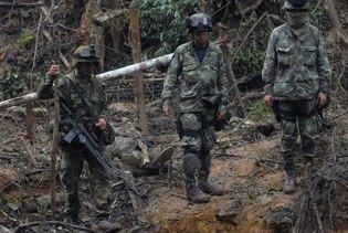 Бойовики FARC розстріляли колумбійських військових