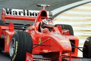 Міхаель Шумахер повернувся в Ferrari