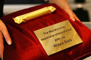 У британських магазинах стали продавати шоколад за ціною золота