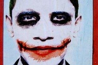 У Лос-Анджелесі розклеїли постери Обами у вигляді злочинця Джокера
