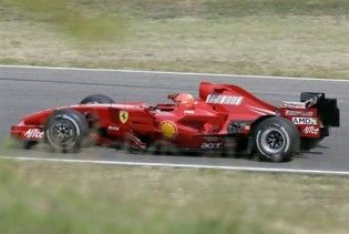 Шумахеру не дозволено тести на новому Ferrari