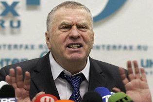 Жириновський готовий подати зустрічний позов до Лужкова