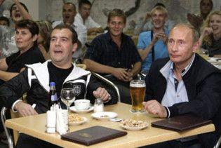 Мєдвєдєв вказав Путіну на його місце: прем'єр займається економікою