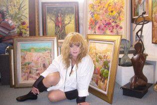 Пугачова таємно відвідала ізраїльську картинну галерею