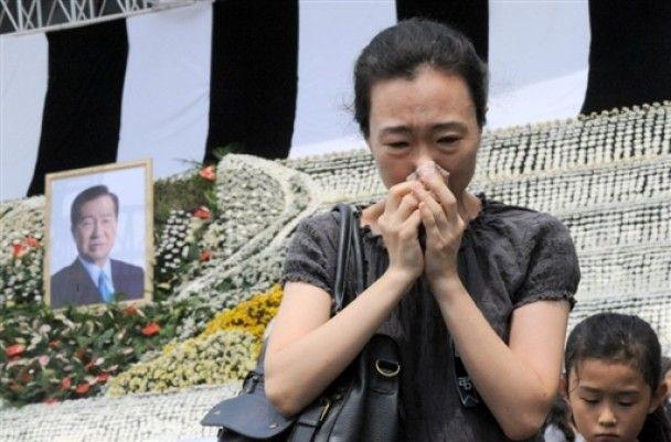 Кім Чен Ір висловив співчуття у зв'язку зі смертю екс-президента Південної Кореї