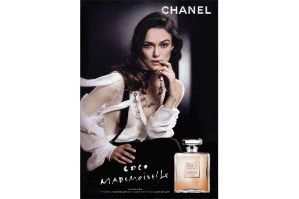 Кіра Найтлі оголила груди для Chanel