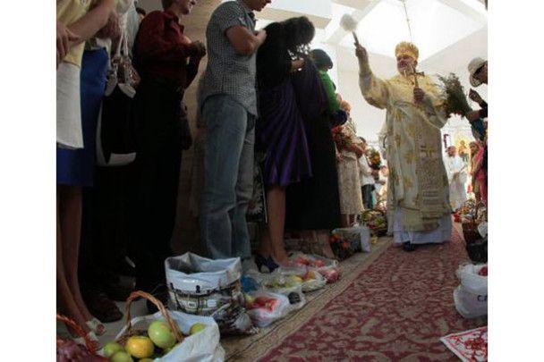 Святкування Яблучного Спасу