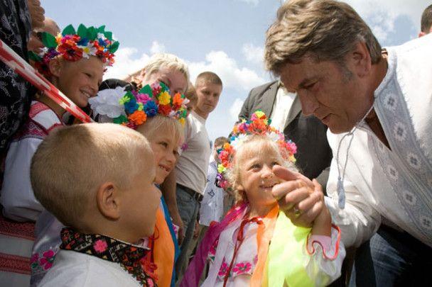 Ющенко відкрив Сорочинський ярмарок
