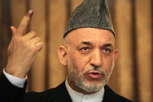 Карзай перемагає на виборах президента Афганістану