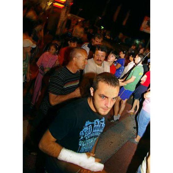 Кривава бійка на одеському ринку