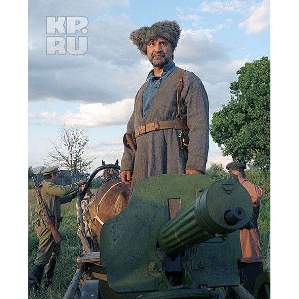 Юрій Шевчук зіграв керівника Антонівського повстання