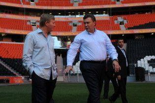 Янукович: Євро-2012 буде в Донецьку завдяки Ахметову