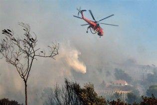 Під час гасіння пожежі в Греції розбився літак