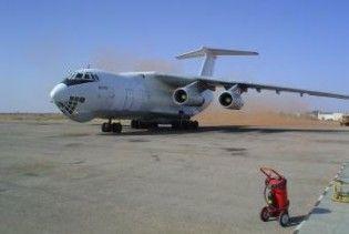 Літак Путіна врізався в стовп в аеропорту Гданська