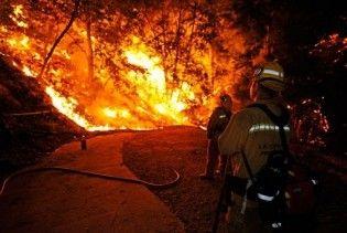 Лісові пожежі наближаються до Лос-Анджелеса: під загрозою центр NASA