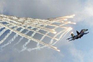 На авіашоу в Польщі розбився білоруський Су-27