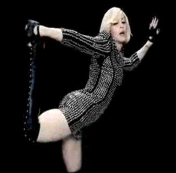 Мадонна зняла кліп