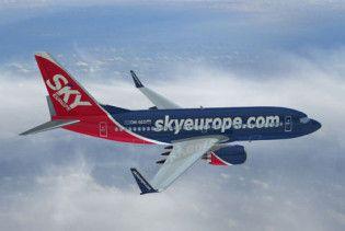 Авіакомпанія SkyEurope збанкрутувала. Тисячі пасажирів застрягли в аеропортах
