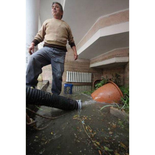 Наслідки потопу в Євпаторії