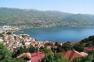 На озері в Македонії затонув корабель з туристами
