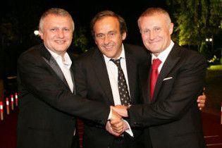 Суркіс: впевненість у проведенні Євро-2012 стає все більшою