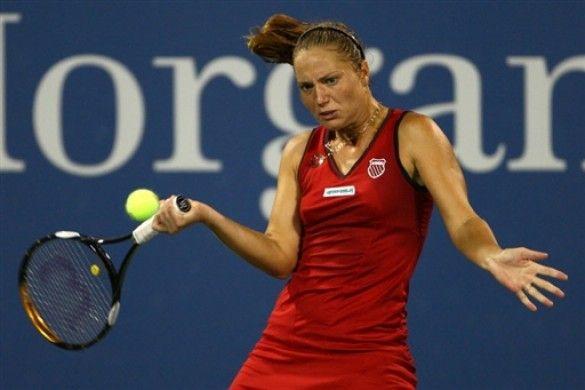 Катерина Бондаренко на кортах US Open