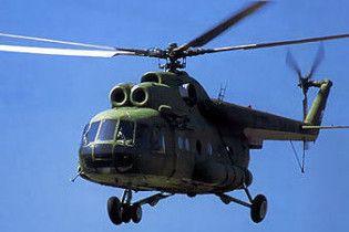 На Північному полюсі перекинувся російський вертоліт