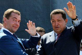 Чавес прибув до Москви за ракетами і танками