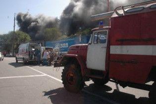 Пожежу на АвтоЗАЗі загасили