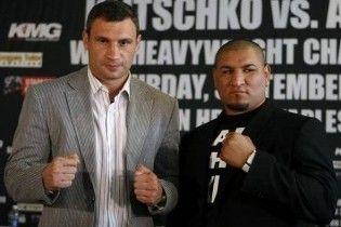 Бій Кличко - Арреола увійде в історію боксу