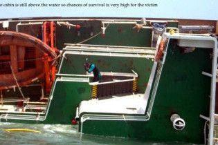 Корабель із українцями перекинувся біля берегів Індії