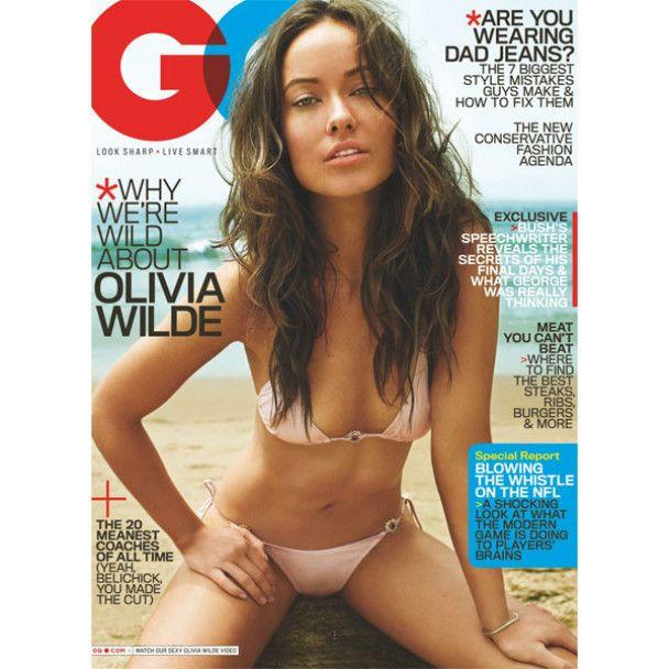 Олівія Уайльд роздяглась для GQ