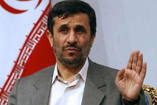 Ахмадінежад назвав США та Ізраїль ініціаторами масових заворушень у Тегерані