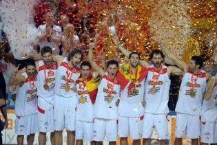 Іспанія вперше в історії виграла чемпіонат Європи з баскетболу
