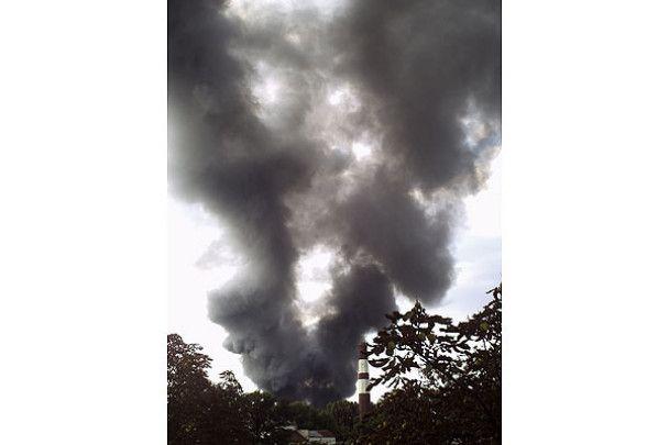 На одному з найбільших ринків Дніпропетровська сталася пожежа