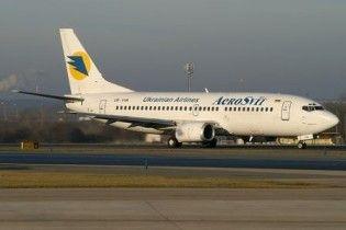"""Літак повернувся в """"Бориспіль"""", пролетівши третину шляху"""