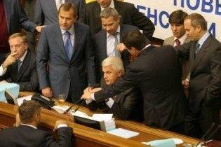 Литвин пропонує прирівняти блокування ВР до порушення присяги