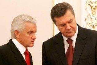 Янукович і Литвин влаштували скандал у Верховній раді