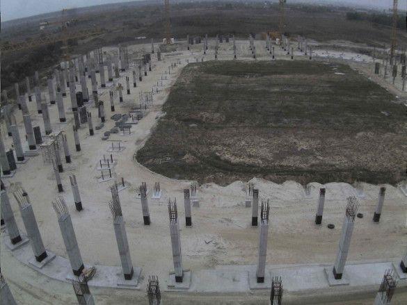 Будівництво стадіону Євро-2012 у Львові